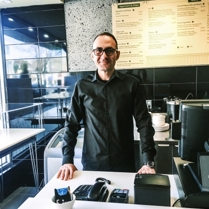 Faces & Places of Danforth/Broadview: Amr @ Papyrus