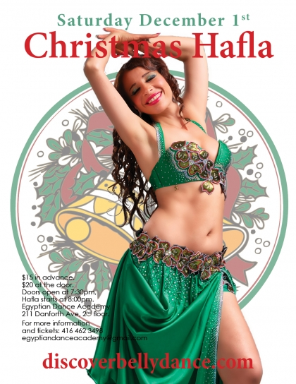 Christmas Belly Dance Party with Live Music
