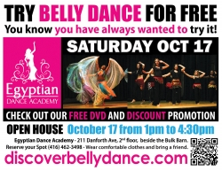 Special Events at Hannan's Belly Dance Studio