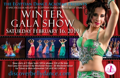 Winter Gala Show @ Egyptian Dance Academy