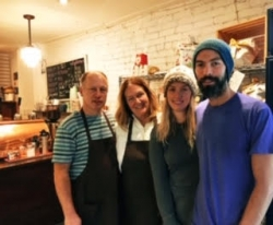 Faces & Places on the Danforth: Tracy @ Dough Bakeshop